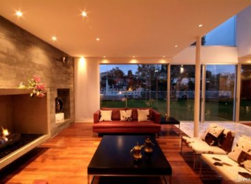 Không gian ấm cúng trong gia đình với ngôi nhà Casa A.P