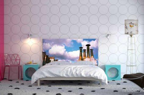 Làm mới không gian phòng ngủ với bệ đầu giường NOYO