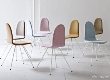 Mẫu ghế hình chiếc lưỡi của Arne Jacobsen