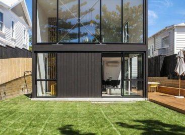 """Phong cách hiện đại trong ngôi nhà """"hộp"""" ở New Zealand"""