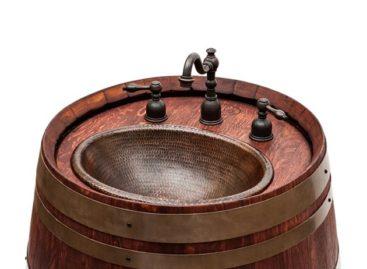 Thiết kế độc đáo từ thùng rượu