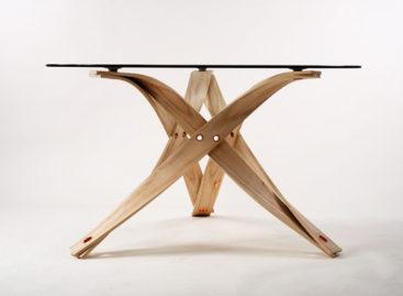 Thiết kế nội thất xoắn cuộn mềm mại của David Colwell