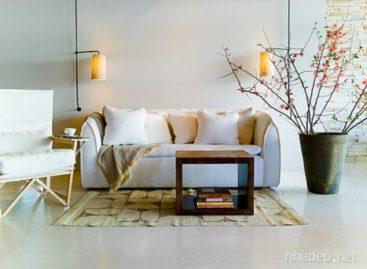Vật dụng nội thất tinh tế với vật liệu tái sử dụng