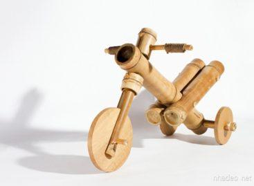 Ý tưởng độc đáo xe đạp ba bánh từ gỗ tự nhiên của a21studio