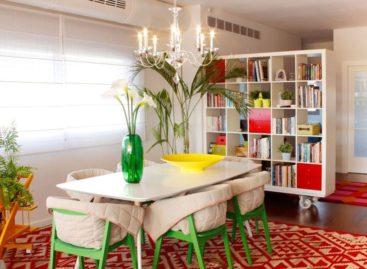 Sử dụng màu sắc tuyệt vời trong thiết kế căn hộ Dazzles