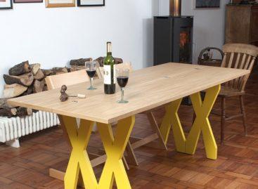 Chiếc bàn gập linh hoạt tiết kiệm không gian