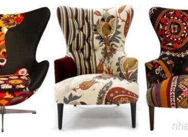 Chiếc ghế Xalcharo – Nét tươi vui của màu sắc