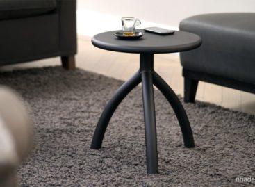 Chiếc ghế đẩu bằng oxit nhôm anot hóa hay chiếc bàn nhỏ tiện dụng của Functionals