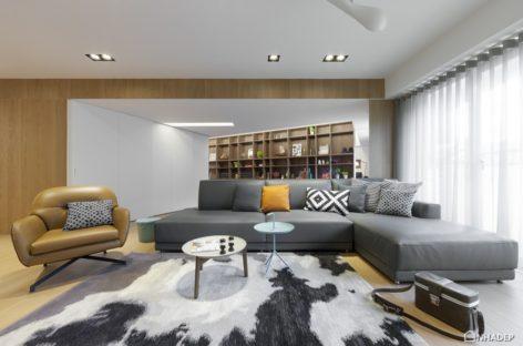 Giải pháp thiết kế cho căn hộ nhỏ hiện đại ở Đài Loan