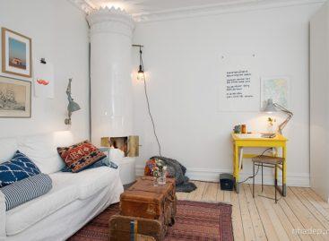Thiết kế trẻ trung của một căn hộ nhỏ ở Gothenburg
