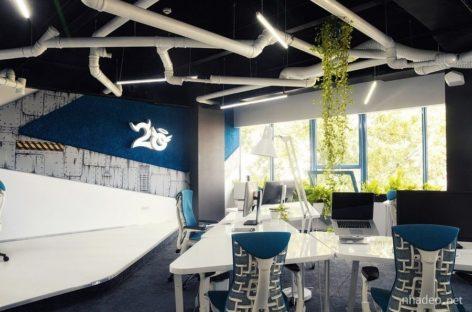 Ý tưởng mới lạ cho văn phòng làm việc mang phong cách tàu không gian