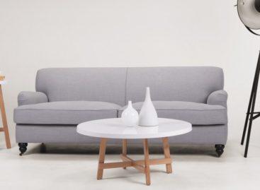 Thiết kế hình tròn độc đáo của bàn cà phê Spun
