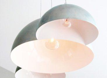 """Thiết kế đèn treo """"ba đám mây"""" của Clark Bardsley"""