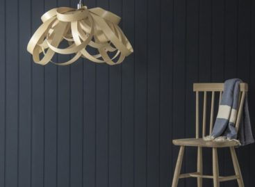 Độc đáo sáng tạo cùng những chiếc đèn làm từ gỗ tái chế