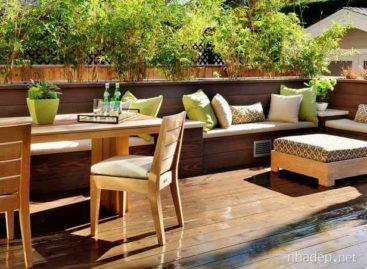 Những thiết kế hiên nhà và sân vườn đầy thơ mộng (Phần 1)
