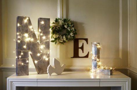 Những ý tưởng trang trí với đèn cho mùa Giáng sinh nổi bật