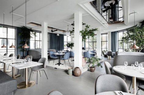 Phong cách trang trí hiện đại của nhà hàng Bắc Âu