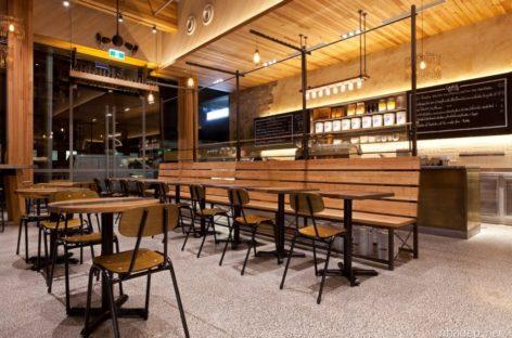 Thiết kế cổ điển của quán cà phê Pablo & Rusty's