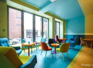 Khám phá quán cà phê đa sắc màu Cafein Bistro tại Hà Lan