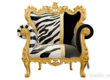Trải nghiệm phong cách nữ hoàng với ghế bành đa sắc màu