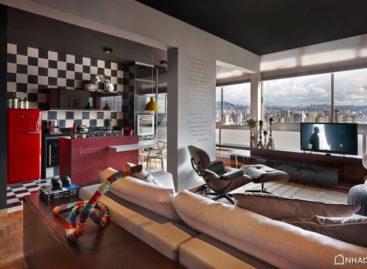 Ngắm nhìn vẻ sang trọng của căn hộ Belo Horizonte, Brazin