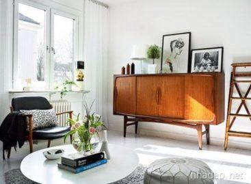 20 mẫu tủ búp phê đẹp mang phong cách Mid-Century Modern