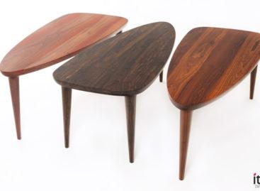 Bàn Tikin – sự sáng tạo từ những loại gỗ nhiệt đới