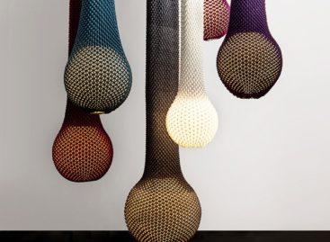 Bộ đèn Knitted độc đáo và hiện đại