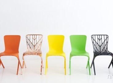 Bộ ghế Skin và Skeleton của nhà thiết kế David Adjaye