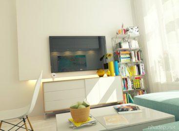 Sáng tạo và hiện đại với căn hộ 29m2