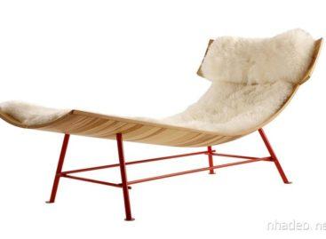 Chiếc ghế dài Zeeen Chaise độc đáo thiết kế bởi hãng LOP