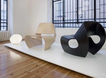 Chiếc ghế lấy cảm hứng từ hình dạng vỏ ốc biển