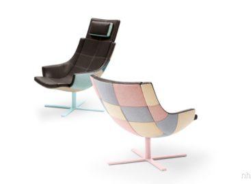 Độc đáo với ghế tựa từ những mảnh ghép màu sắc