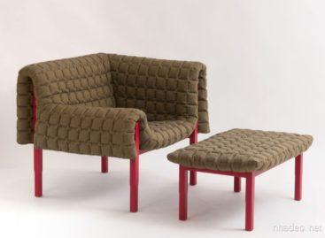 Đơn giản mà tiện lợi với thiết kế ghế dựa Ruché