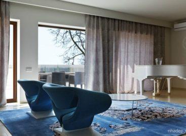 Ngôi nhà Blue Sky – thiết kế bởi Anna và Stanislav Makeev