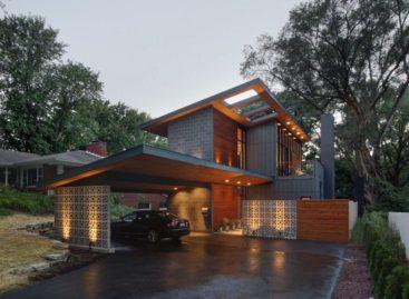 Ngôi nhà Midvale hiện đại và đầy đủ tiện nghi