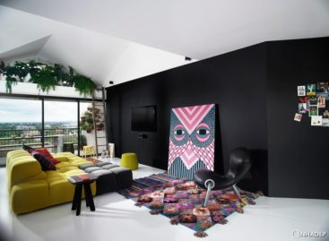 Căn hộ penthouse Chester Street hiện đại thiết kế bởi Alexander Lotersztain