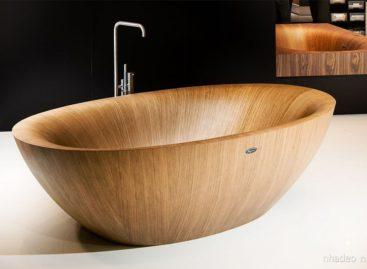 Bộ sưu tập bồn tắm gỗ sang trọng và tinh tế