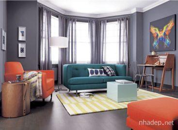 Sức mạnh linh hoạt của nội thất màu xanh