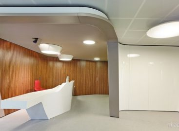 Thiết kế hiện đại mang âm hưởng Châu Phi của trụ sở chính Inaugure