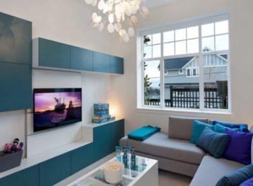 Thiết kế nội thất đầy màu sắc