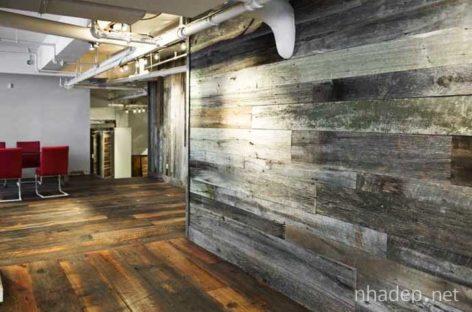 35 mẫu bức tường gỗ lý tưởng