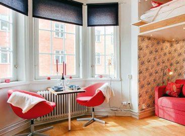 Ấn tượng với cách thiết kế nội thất cho căn hộ 21m2