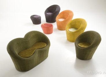 Bộ ghế Giada đan tinh tế của Dolcefarniente