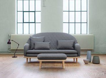 Bộ sofa mặt trời mọc của công ty thiết kế Note Design Studio
