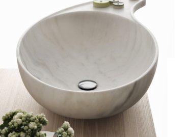 Sáng tạo với bồn rửa tay bằng đá hoa cương