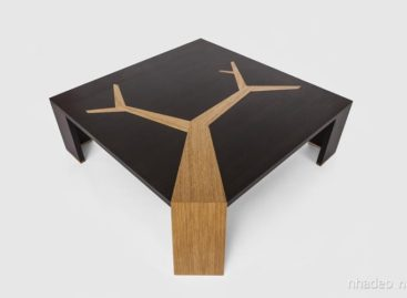 Đơn giản mà tinh tế với chiếc bàn Angkor thiết kế bởi Olivier Doleé