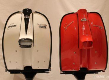 Cảm hứng retro: Chiếc ghế Lambretta hình xe tay ga