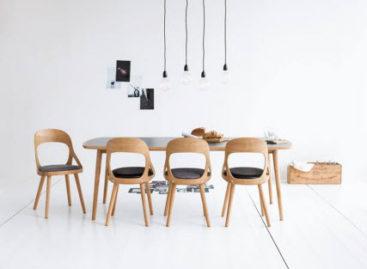 Nét hiện đại pha lẫn cổ điển của bộ ghế Colibri