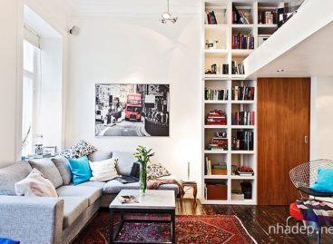 Thiết kế căn hộ nhỏ theo phong cách Thụy Điển